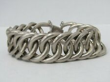 Mid-Century William Spratling Chunky Sterling Silver Chain Link Bracelet