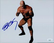 Bill Goldberg WWF WWE Signed 8x10 Matte Photo JSA Authenticated