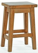 REGUINY/OAK KITCHEN BREAKFAST BAR STOOLS/ SOLID WOOD STOOL/ DINING SEAT