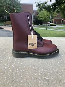Dr Martens 1490 Red Womens Size 6, Mens Size 5