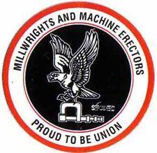 UNION Millwright 5 DECALS + 5 sets starrett pocket charts  #19
