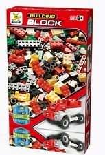 Building Blocks Construction Brick Kids Learning Fun Toys Gift 1000 Pcs FIRE