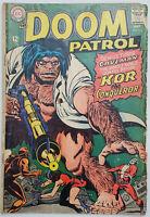 Doom Patrol #114 GD/VG DC Silver Age 1967 Kor--the Conqueror -  Rare Vintage!
