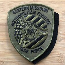 US Marshals Service - EDofMO Metro Fugitive TF OD + V Genuine *Kokopelli Patch*