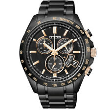 Citizen Eco-Drive BY0135-57E Chronograph Steel Watch. Perpetual Calendar, 10 ATM