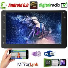 "7"" 2DIN Android 6.0 Car Stereo GPS OBD FM Radio Bluetooth 3G 4G WiFi MP5 Player"