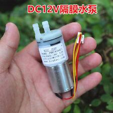 Dc 5v 12v 6v 9v Small 370 Motor Diaphragm Pump Self Priming Water Suction Pump