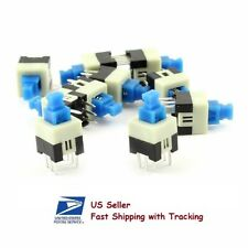 20 Pcs Push Button Non Latching Momentary On Off Switch 7x7mm 6 Pin Dip Usa