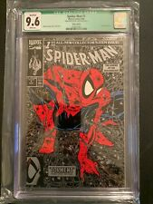 Marvel Comics Spider-Man #1 Silver Signed by Todd McFarlane CGC 9.6