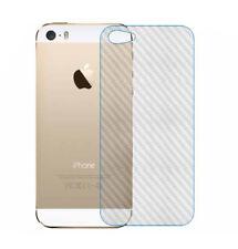2 x Rückseite Carbon Schutzfolie iPhone 5 / 5S / SE Carbon Hinten Film Folie