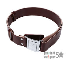 Surplus Original Chinese PLA Army Military  Type 65 Belt Military Brown Color
