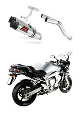 Escape silenciador exhaust DOMINATOR HP3 YAMAHA FZ6 FAZER 600 04-06 + DB KILLER