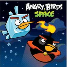 Angry Birds Space Dessert Beverage Napkins 16 Count Birthday Party Supplies New