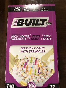 Built Bar White Chocolate Birthday Cake LIMITED/SOLD OUT; Sealed Box