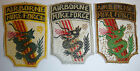 DRAGONS - LOT x 3 PATCH - MACV SF - MIKE FORCE - NUNG RECON - Vietnam War - 5330