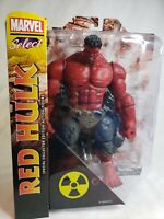"""Marvel Select Special Collectors Edition Red Hulk Action Figure 10"""" Christmas"""