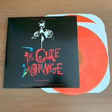 The Cure Live In Orange Double Color Vinyl 2 X LP 1986 Faith Pornography The Top