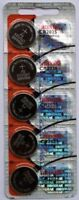 5PC Maxell CR2025 Coin Cell Battery - Made in Japan