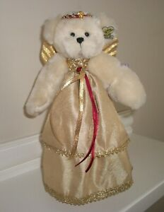 """RARE Collectible Annette Funicello """"Angel Above"""" Christmas Tree Topper Bear"""