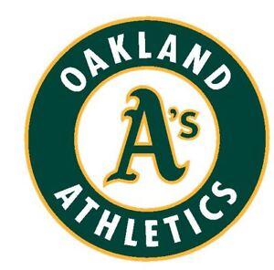 Oakland Athletics Oakland A's Sticker Decal S203 Baseball YOU CHOOSE SIZE