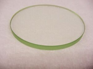 Vintage Clear Glass Disk | 75mm x 5mm | Thick | Polished edge | Clear | $9 |