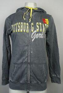 Pittsburg State Gorillas Women's  Gray NCAA Full Zip Zen Hoodie Sz S M L XL XXL