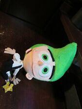 Nickelodeon Fairly Odd parents plush Cosmo with wand (Rare)