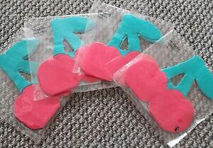 4 X Packs Of Cherry Napkins. Novelty Party Cherry X 40 napkins Joblot kids