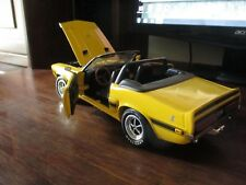ERTL 1:18 SCALE SHELBY GT 500 1969 MODEL DIE CAST