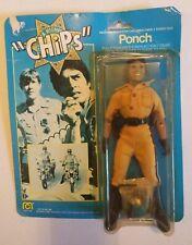 "Vintage Mego 1977 8"" CHIPS Ponch Action Figure NIB with wear (read description)"