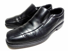 BOSTONIAN MEN'S SOFT LEATHER LOAFERS BLACK SLIP ON DRESS SHOES 13 M