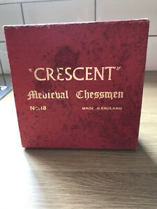 Crescent No 18 Set of Medieval Chessmen
