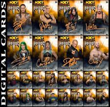 Topps SLAM WWE NXT HALLOWEEN HAVOC 2020 [SET 24 CARD ORANGE SIGNATURE/BASE]