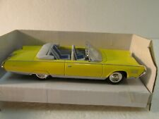 New Ray 1964 Yellow Chrysler Turbine Convertible 1:43 Scale Diecast  dc2618