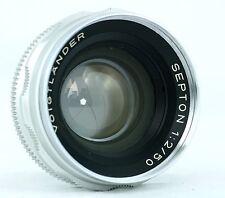 Voigtlander Septon 2/50mm No.5473782 for Bessamatic/Ultramatic