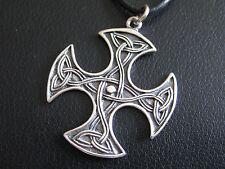 Keltischer Knoten 925'er Silber Ketten Anhänger Kreuz Keltenknoten  / KA 832