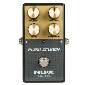 NuX Plexi Crunch Distortion Reissue Series Pedal Based on Marshall Plexi Amp