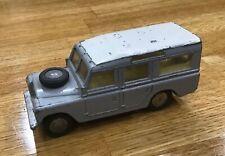 Triang Spot on Long Wheel Base Grey Land Rover Station Wagon - Circa 1950s