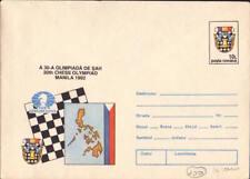 1992  Romania  Chess  cover  VF