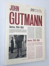John Gutmann 99 photographies 1989 Fundacio Caixa de Pensions 1989 Exposition