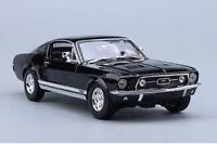 MAISTO 1/18 Scale 31166 Ford GTA Fastback 1967 Diecast Black Car Vehicles Model