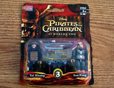 Mega Bloks 1044 PIRATES of the CARIBBEAN Sparrow! TAI HUANG & SAO FENG Figures