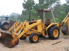 Case 580E Super E 580SE Loader Backhoe Tractor 2 Service Manuals & Parts Catalog