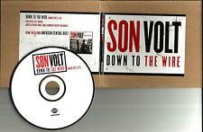Jay Farrar SON VOLT Down to the Wire w/RARE EDIT PROMO DJ CD single Uncle Tupelo