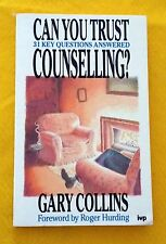 Can You Trust Counseling by Gary Collins FREE AUS POST used paperback
