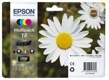 EPSON Inkjet Patrone Nr. 18 schwarz cyan magenta yellow Multipack T1806 576834