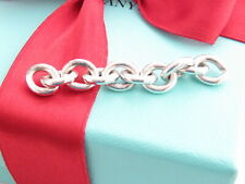 """Tiffany & Co Sterling Silver 2"""" Long Extra Chain Link for Repair or Extension"""