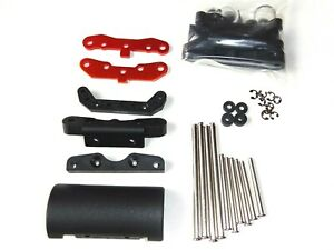 NITRO 1/8 RC BUGGY HPI TROPHY 3.5 SUSPENSION ARM HOLDER SET WITH PINS NEW