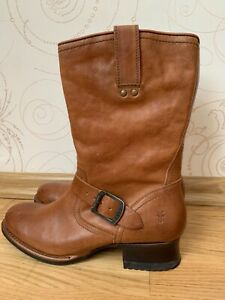 Frye  Womens Western  Boots Brown  Size US 8 EU 38,5