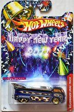 HOT WHEELS 2011 HAPPY NEW YEAR VOLKSWAGEN DRAG TRUCK BLUE